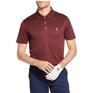 Red IZOD Golf Polo
